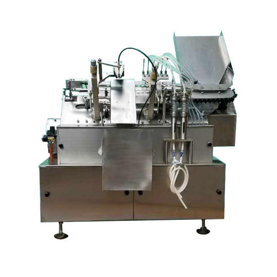 Reagent Tube /Wire Drawing/ Ampoule Filling and Sealing Machine with Two Nozzle for 5-15ml