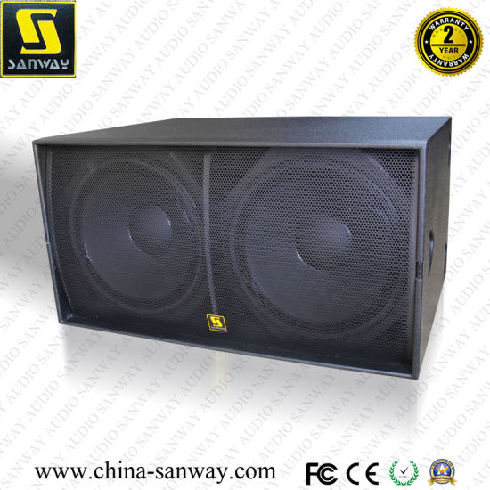 "Ws218X Dual 18"" High Quality Professional Audio Subwoofer Speaker pictures & photos"