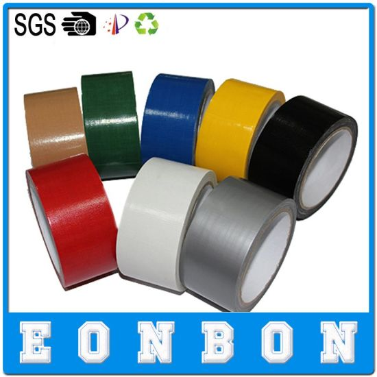 Different Colors Self Adhesive Cloth Duct Protection Tape pictures & photos
