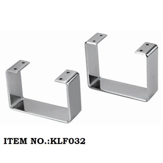 Chrome Metal Furniture Sofa Base Table Bed Leg L150*W50*H105mm L150*W50*H125mm