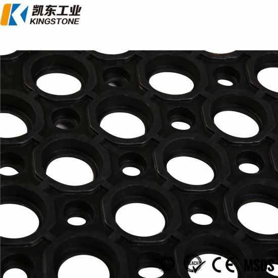 China Commercial Non Slip Rubber Hollow