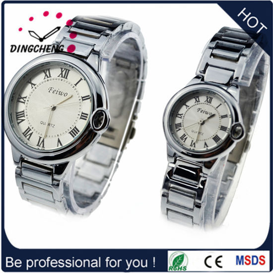 Couple Stainless Steel Case Watch Japan Movement Wrist Fashion Watch pictures & photos