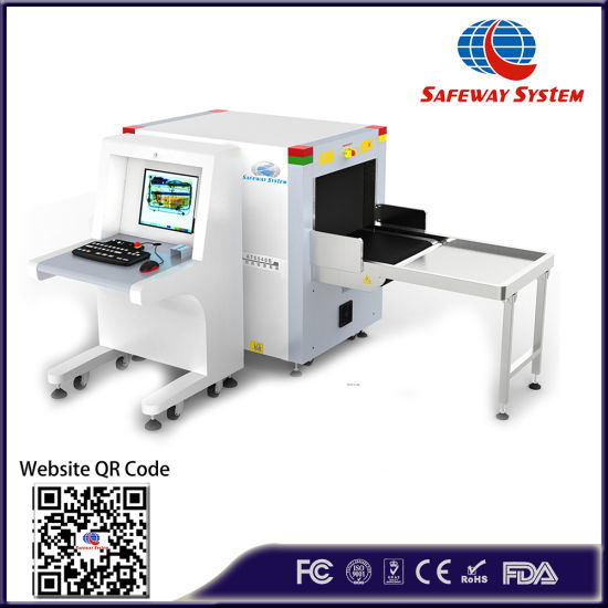 At6040b X Ray Baggage Parcel Inspection System for Military, Government, Commercial Building