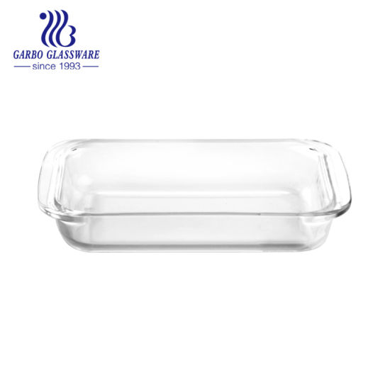 Hot High Borosilicate Baking Gl Dish Oven Plate Microwave Safety Gb13g18258