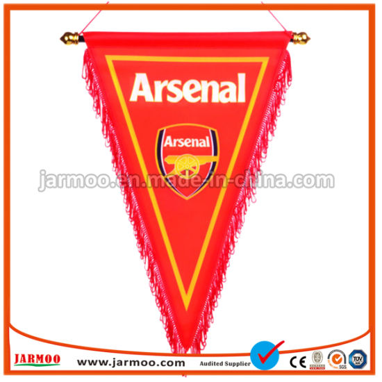 Hand Made Bunting Arsenal Football Club