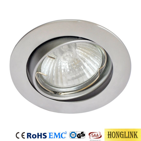 Ceiling Lights & Fans White Round Gu10 Surface Mounting Aluminum Frame For Led Fixture Downlight Mr16 Fitting Mounting Ceiling Spot Lights Frame