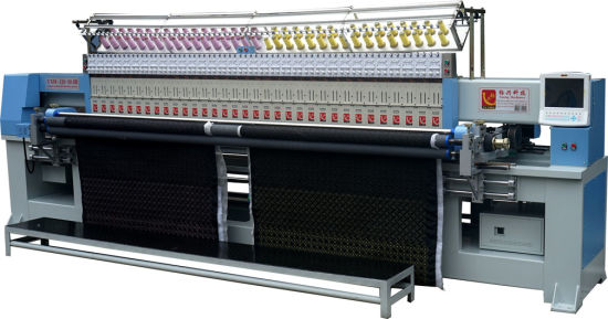 Computerized 33 Head Quilting and Embroidery Machine Yxh-128-50.8b