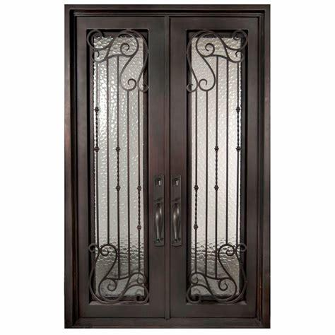 Modern House Iron Door Design Wrought Iron Door And Glass Chinese Security Doors China Door Elegant Hand Made Handles Made In China Com