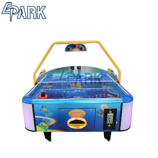 China Kids Lottery Air Hockey Game Machine For Sale China Amusement Equipment And Home Theater Price