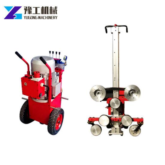 China Hydraulic Diamond Wire Saw Machine Granite Multiwire Cutter ...