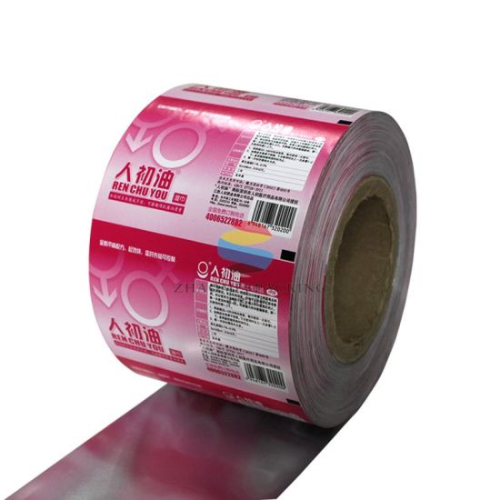 Food Grade Customized Plastic Packaging Film for Food Products