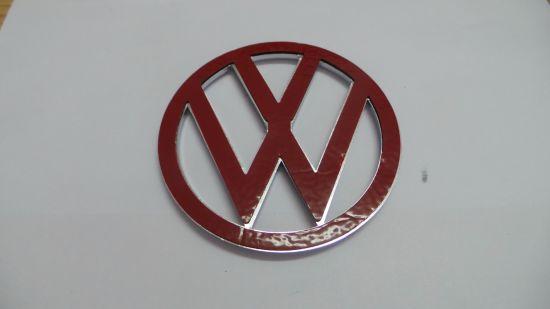 China Vw Logo Car Emblem Sticker Emblem 11mm Vw Red China