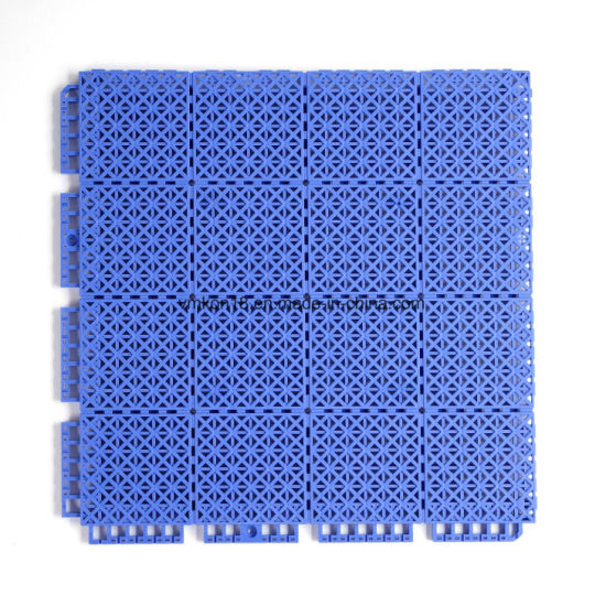 Outdoor Plastic Products Soft Polypropylene Interlocking Basketball Sports Flooring