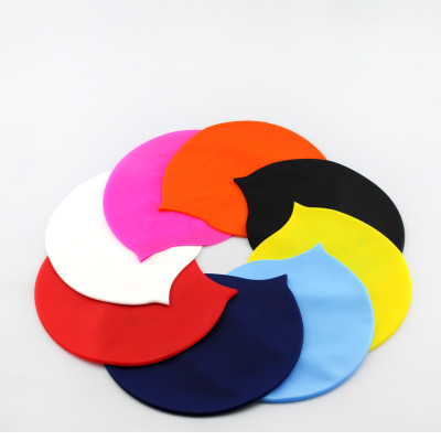 Waterproof Summer Sport Diving Promotional Silicone Swimming Cap