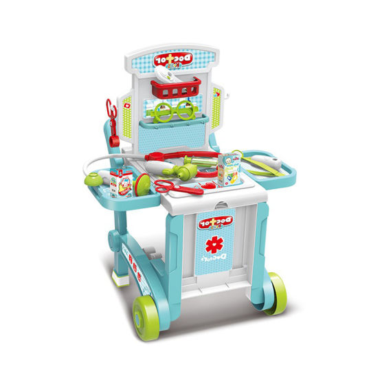 China Preschool Role Play Plastic Doctor Set Toys For Kids 10310257