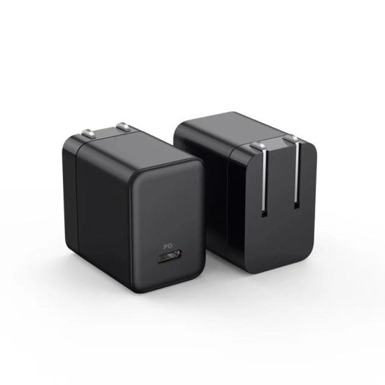 30W GaN Mini Size Wall Fast Charger Travel Adapter