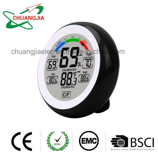 Indoor Digital Thermometer Hygrometer Temperature Humidity Meter Max Min Records