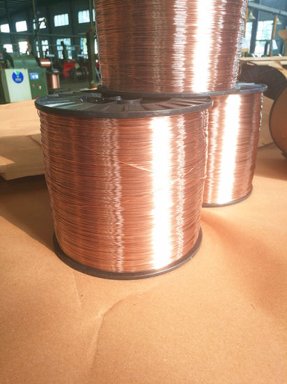 China Special Copper Coated Wire for Coil Nail - China Copper Coated ...