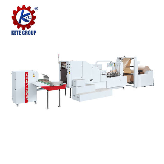 Cheap Low Cost Square Bottom Paper Bag Making Machine