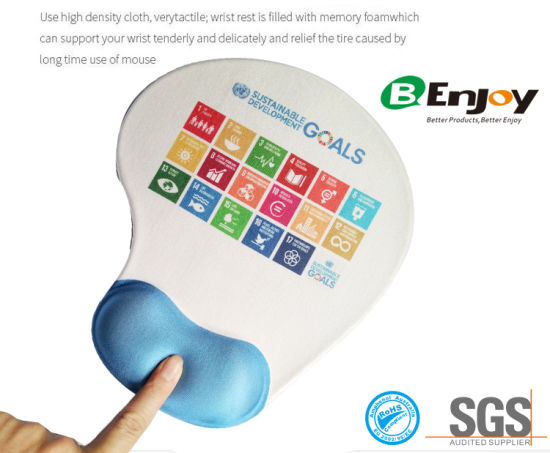 Custom Logo Printing Gel Mouse Pad for Promotional Gift pictures & photos