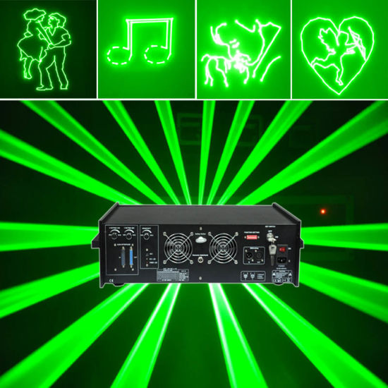 Powerful Green Animation Outdoor Laser Projector (L5000G)