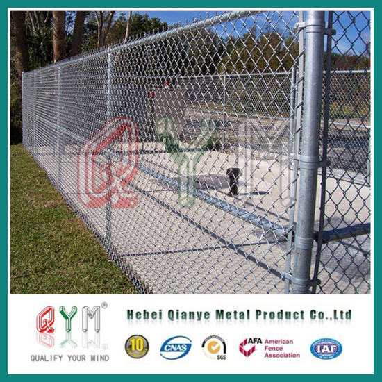 Wholesale Garden Chain Link Fence / Metal Chain Link Fence Panels