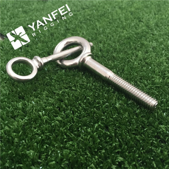 Stainless Steel 304/316 Lifting Eye Bolt with Ring and Nut pictures & photos