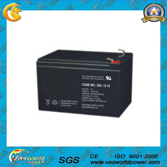 Newest Technology Gel Battery 12v 12ah With Whole Price Pictures Photos