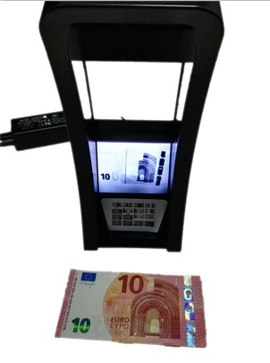 Infrared Counterfeit Detector, Banknote Detector, Fake Bill Detector, Note Detector
