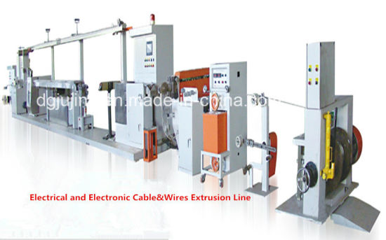 Electronic Wire Production Line Extrusion Cable Machine pictures & photos