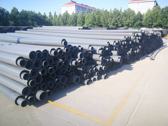 """1/2""""-12"""" CPVC Plastic Pipe for Chemical Industry Large Diameter Orange PVC/CPVC Pipe for Water Supplying"""