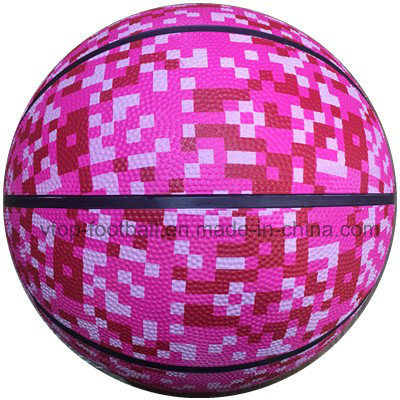Neon Color High Quality Rubber Basketball pictures & photos