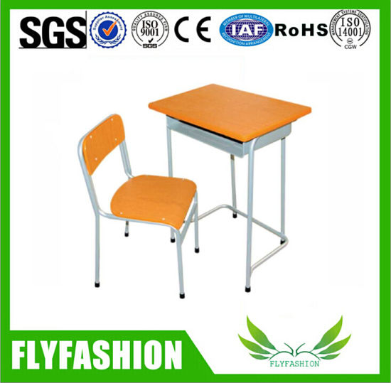 School Single Desk and Chair, Student Desk and Chair, Desk and Chair pictures & photos