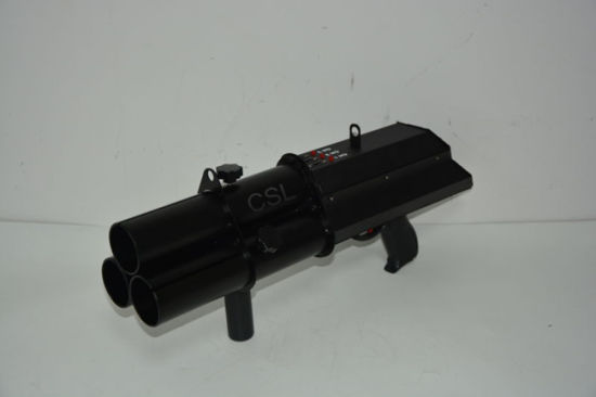 Newest 3 Head Electrical Confetti Gun (CSL-420) pictures & photos
