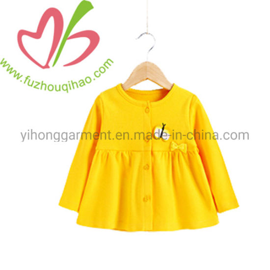 385854f1d869 China Latest Party Fall Winter Wear Cotton Ruffles Baby Girls ...