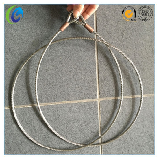 Stainless Steel Wire Rope Sling pictures & photos