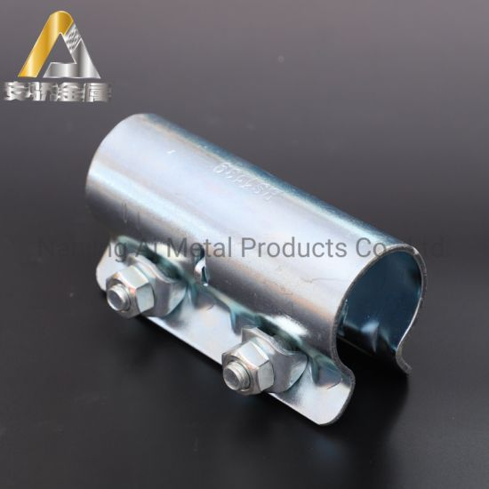 Galvanized Pressed and Drop Forged Half Single Putlog Scaffold Right Angle Sleeve Coupler