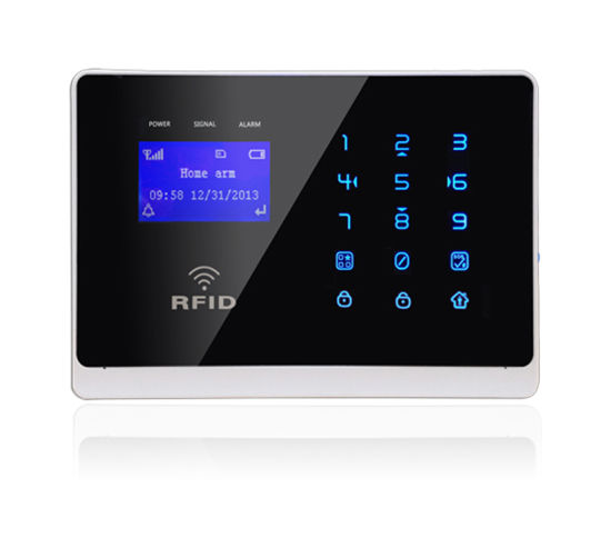 GSM Wireless Home Security Burglar Alarm with Touch Keypad (YL-007M2FX) pictures & photos