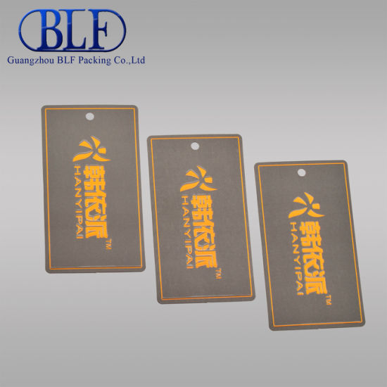 Printed Hang Garment Paper Tag (BLF-T005)