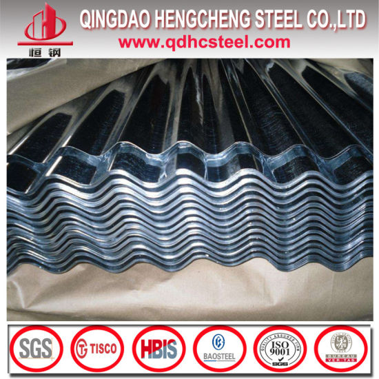 Hot Dipped Zinc Coated Steel Roofing Sheet pictures & photos