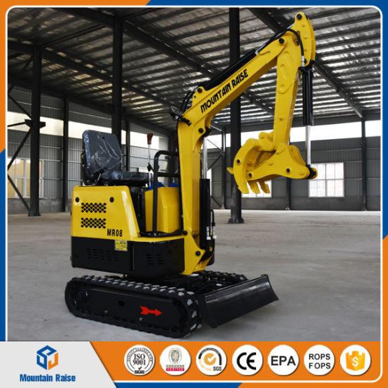 Geliebte Cheap Mini Excavator 800kg China Mini Bagger for Greenhouse #QU_31