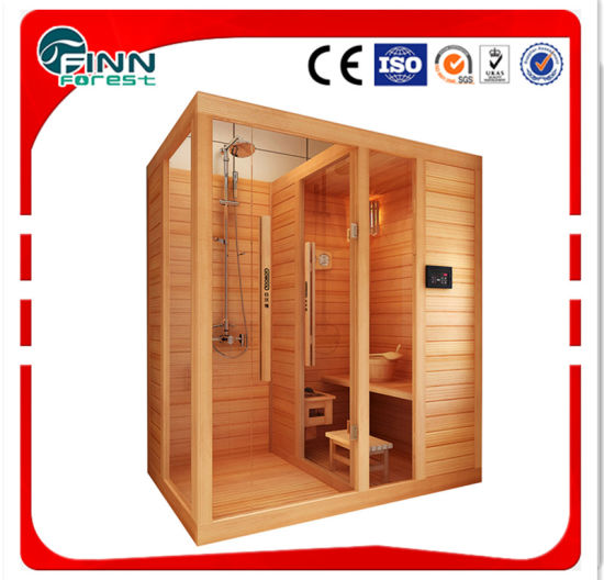 Can Be Customized New Design Shower Room and Sauna Room Conbination Sauna Room