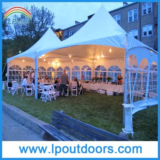 6X12m White PVC Outdoors Frame Tent for Event Party