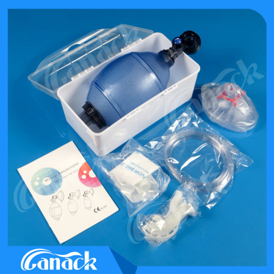 Pvc Manual Resuscitator Bag For Or Infant Pediatric