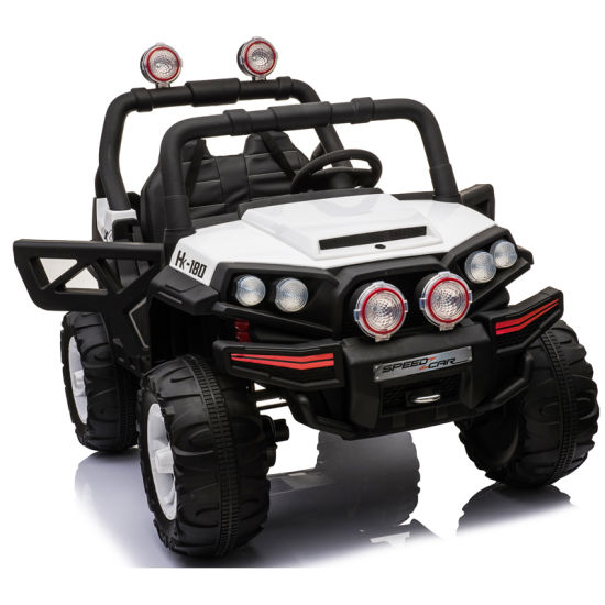 China 12v Two Seater Ride On Kids Electric Jeep With 2 4g Remote