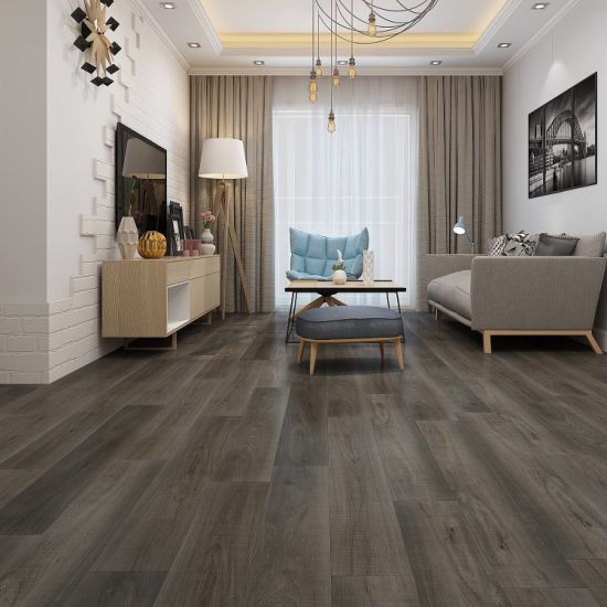 Slip Resistant Waterproof PVC Spc Lvt Vinyl Laminate Tile Flooring