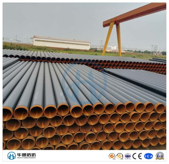 ERW Steel Pipe with Three Layer PE Anti Corrosion for Building Used Construction Material