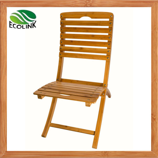 Bamboo Portable Foldable Chair for Bamboo Furniture pictures & photos