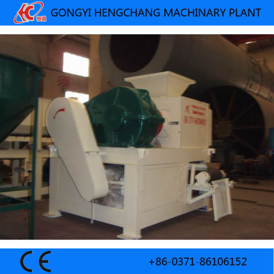 Four Roller Twice Coal Dust Briquette Machine with Reasonable Price pictures & photos