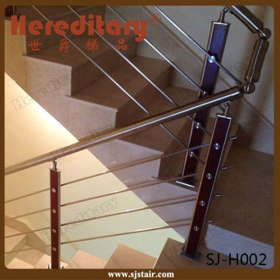 Factory Price Wire Railing Balustrade for Balcony (SJ-H081) pictures & photos